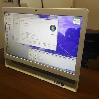 中古一体型パソコンSONY★Windows7 - 和歌山市