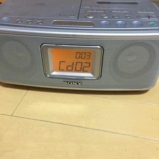 SONY CDラジオカセットコーダー ジャンク
