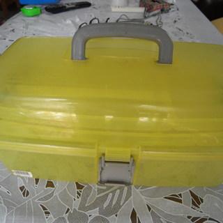 値下げ品 プラスチック ツールBOX(中古品)