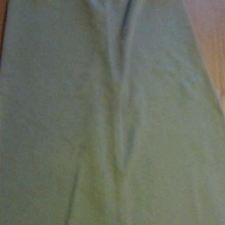 ニッセンのスエット素材マキシスカート 2色あります 無料