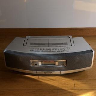 Panasonic CD&カセット&ラジオ デッキ