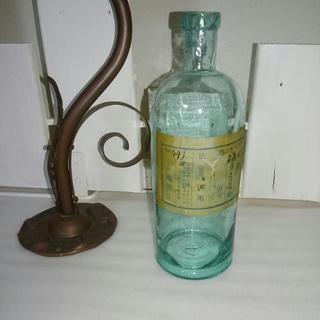 お譲り先決定 古い薬瓶 レトロ アンティーク