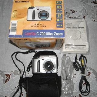再再値下げ品 OLYNPUS デジタルカメラ(中古美品)