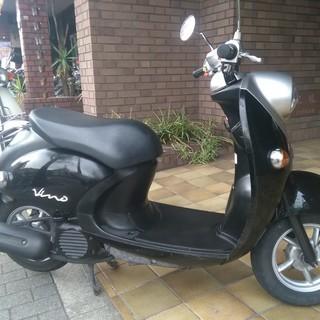 【中古】YAMAHA Vino 4st 50cc 黒☆プロ整備・3...