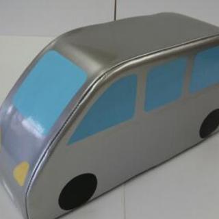 クッション遊具ワンボックスカー