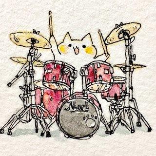 ドラム教室  1時間2,000円~