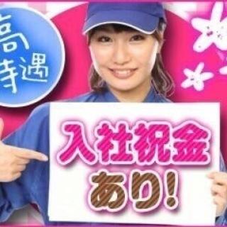 日勤!高時給!お祝い金15万円!