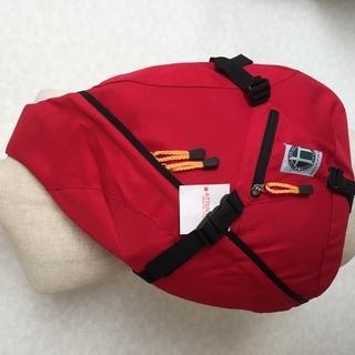FORCE CLOTHING デイパック 送料込み(レッド) 手渡しは1000円 - 札幌市