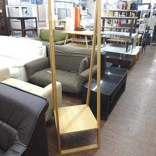 札幌 引き取り 無印良品 ハンガーラック 木製 コンパクトなサイズです