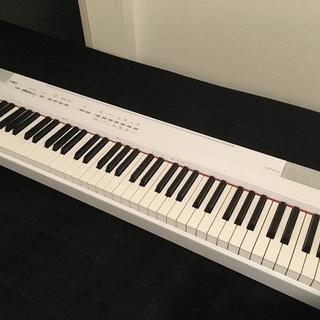 YAMAHA ヤマハ 電子ピアノ P-105WH 88鍵盤…