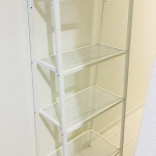 【IKEAで購入】状態◎ホワイトシェルフ