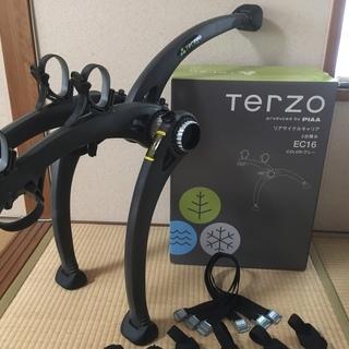 TERZOリアサイクルキャリア EC16 美品中古・定価2万円の...