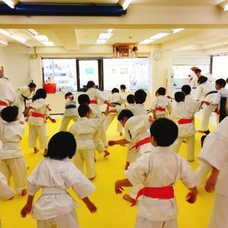 中野坂上【キッズにやさしい空手教室】4歳~OK!!