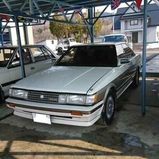 マークⅡGX71ツインカムツインターボ 昭和63年車