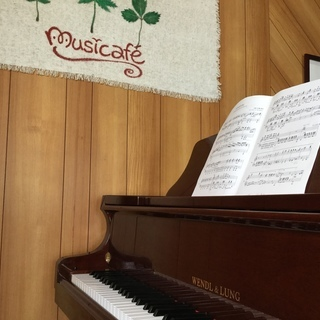 グランドピアノ使えます