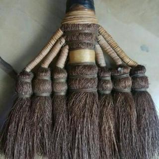 昭和な棕櫚製ハケ🎌レトロ