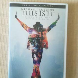 マイケル・ジャクソン this is itのDVD