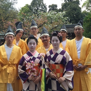【4/10】平野神社の神幸祭 衣裳を着て行列巡行で思い出作りしませんか?