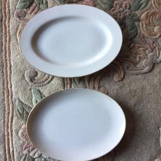 楕円皿 5枚 若干小さめ2枚
