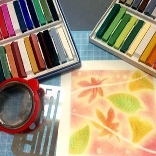 【5月】絵が苦手でも大丈夫!簡単楽しいパステル和アート講座