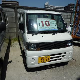 ミニキャブバン 車検30年11月 5速マニュアルです。100,0...