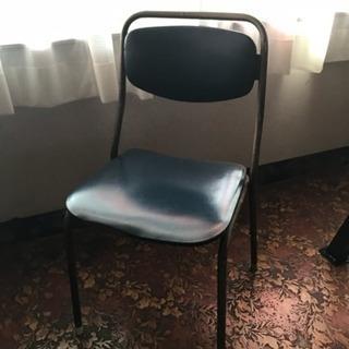 喫茶店 お店用 金属椅子 壊れや破れがあります!