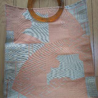 帯で作った手提げ袋