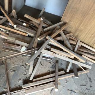 木材あげます、バーベキュー、焚き火に最適