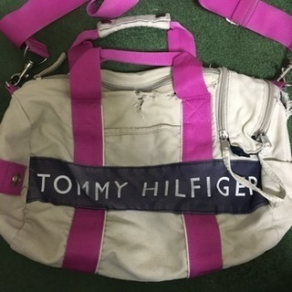 TOMY HILFIGER 2wayショルダーバッグ難あり