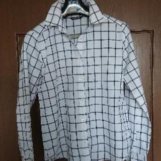 《美品》メイソングレーの長袖シャツ