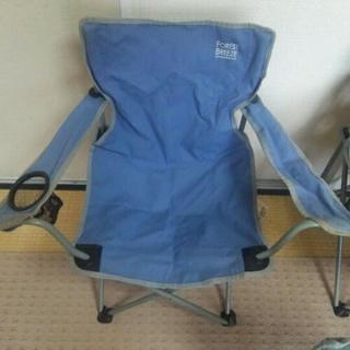 アウトドア用椅子三脚