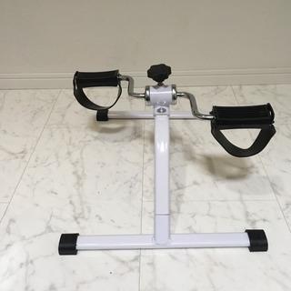 自転車を漕ぐエクササイズ用品
