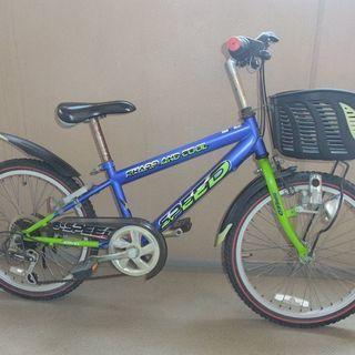 【中古】男の子用自転車20インチ