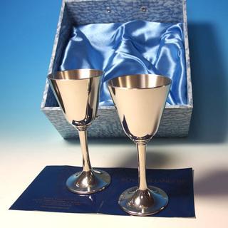 ワイングラス ペアグラス 錫食器 ピューター 高級食器 ペア ロ...