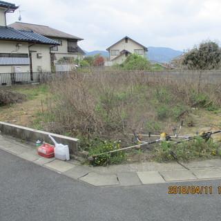 福岡、放置空き地、売り地、分譲地、草刈、ユンボ回収、格安、現状復...