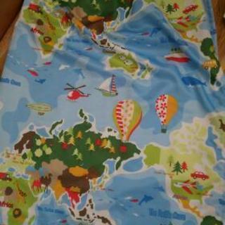 子ども部屋用カーテン 4枚1500円