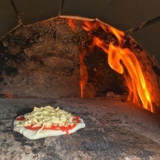 4月28日 40秒でピザが焼ける?自分だけのピザ作り体験会。
