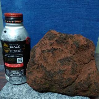 浅間山の溶岩鉢