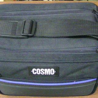 COSMO ビデオカメラケース ソフトバッグ 美品 BK