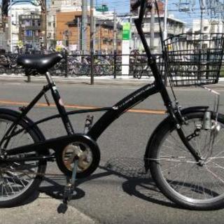 ♪ジモティー特価♪街乗りすいすい20型中古コンパクト自転車 新大阪...