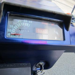 TDO1 青ホンダ ジャイロX トライク風青色 後輪 RACER 240155 824N - バイク