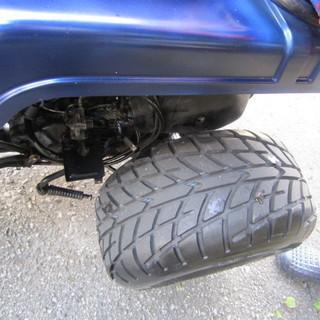 TDO1 青ホンダ ジャイロX トライク風青色 後輪 RACER 240155 824N − 沖縄県