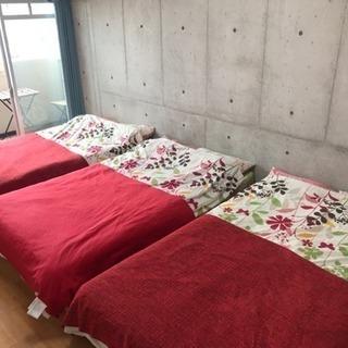 5月末で民泊を閉めます!家具家電セット!1304号室