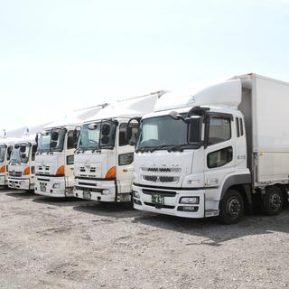 毎日家に帰れる♫名古屋市港区 4tトラックドライバー(雑貨配送)