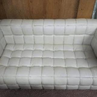 2人掛けソファー。