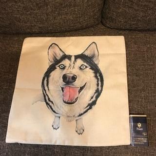 クッションカバー 犬