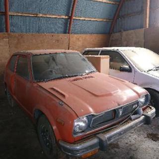 旧車 昭和50年 ホンダシビックRS レストアベース