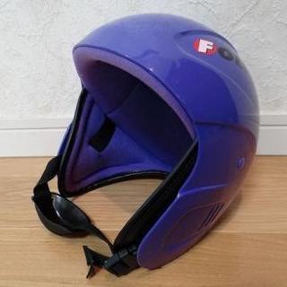 キッズ スキースノボ用ヘルメット・Kazamaゴーグル