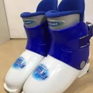 KAZAMAスキー靴 男児用19~20cm