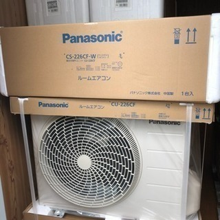 【新品】パナソニック 6畳用エアコン 【標準工事付】税込 期間限...